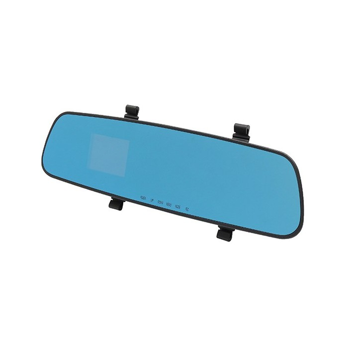 2.4 Inch 1080HD Vehicle Video Recorder Car Rear View Mirror Car DVR Built-in 200mA Battery