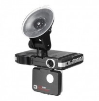 2 IN 1 720P HD Car DVR Camera Recorders + Trafic Radar Laser Speed ​​Detector