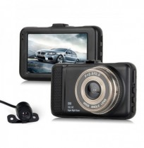 T659 Dual Car DVR Camera 1080P Full HD 170 Degree Angle Driving Recording Car Detector