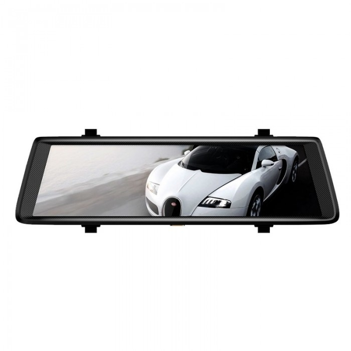 Junsun A900C 10 Inch Full IPS Touch Car DVRs Recorder FHD 1080P Dual Lens Dashcam Retrovisor Mirror