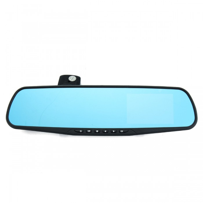 3.5 Inch HD 1080P Rearview Mirror Driving Camera Vedio DVR With 4 Fixed Focal Lens