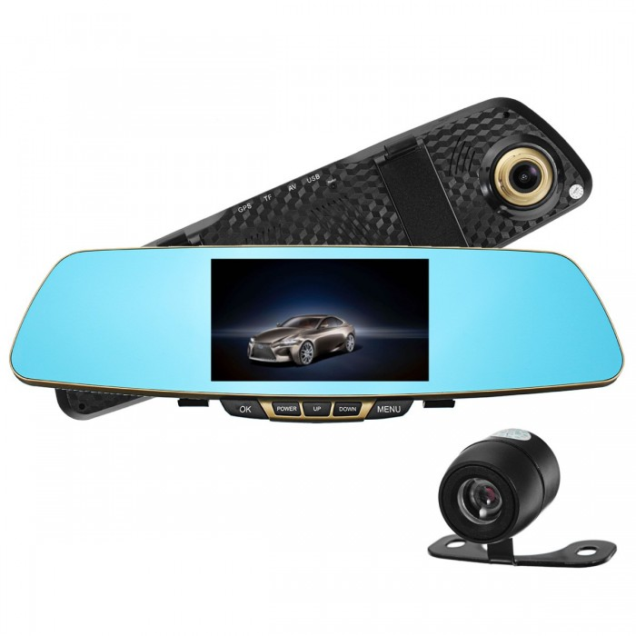 Specchietto retrovisore auto DVR Car Drive fotografica 1080P Full HD Night Vision