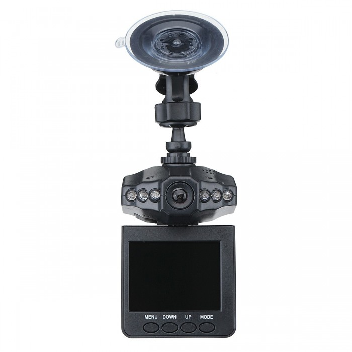 720P 2.5 LCD Dash Cam Car DVR Video fotografica Crash del sensore G di visione notturna del registratore
