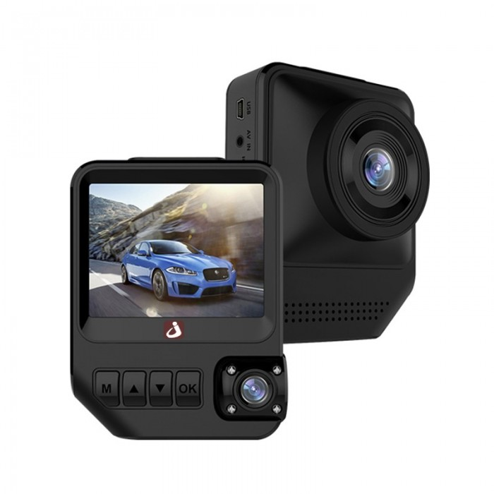 Junsun Q2 2,3 Zoll Dual Lens Kamera Registrar 1080P Video Neinvatek 96658 Auto DVR Dashcam Recorder