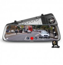 JUNSUN A910 9.35 Inch 1.3GHz Quad-Core G-Sensor USB Car DVR Camera 145 Degree Wide