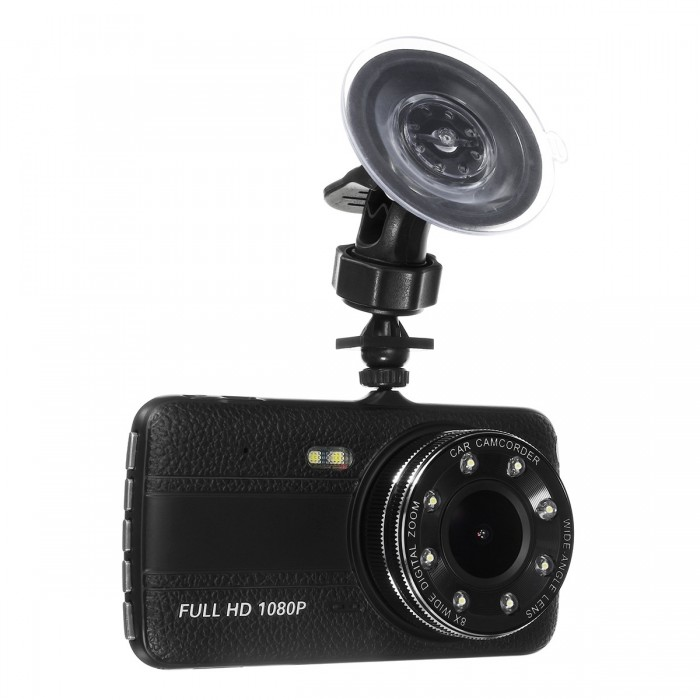 Tela de 4 polegadas Dual Camera Lens HD 1080P Carro DVR Night Vision Video Camcorder