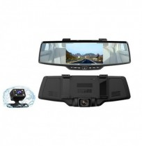 H703 Front And Rear Double Rearview Mirror Driving Recorder Car DVR