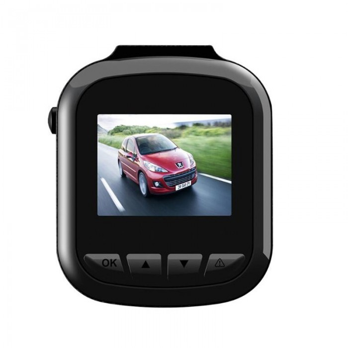 T603A Ventosa de un canal Mini Coche DVR 1080P Gravity Sensing Loop Video