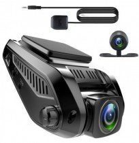 T688C 1.5A 5V 2.4 inch HD Screen Concealed Front And Rear Dual-way Car DVR With WIFI