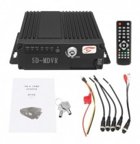SW-0001A 12V Mobil HD DVR Echtzeit Video Audio Recorder Bus Auto DVR mit Fernbedienung