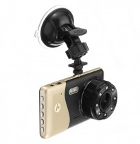 4 Inch 1080P HD Car DVR Dual Camera Recorder Built in Microphone