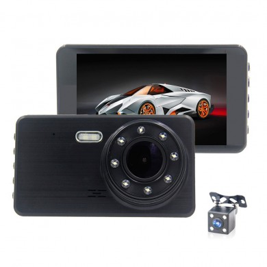 H6 4 Inch 1080P 30 Fps Auto Car DVR Camera 170 Degree Wide Angle