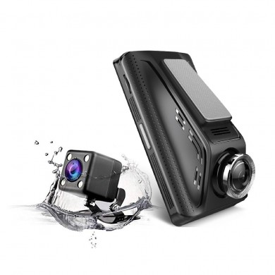 V350 3 Inch 1080P Touch Car DVR Rear View Camera Loop Recording