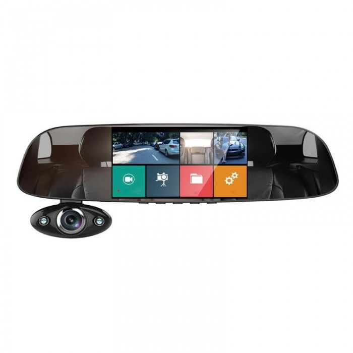 Anytek B33 5 Pollici 1080P HD Dual Way Car DVR tachigrafo 170 gradi di registrazione video ad ampio angolo