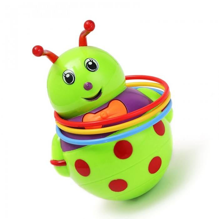 Music Light Animal Honeybee Tumbler Musical Toy for Baby Kids Gift Toy