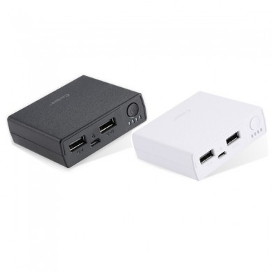 Cager B20 5000mAh Dual USB Ports DC5V 2.1A Power Bank for Xiaomi Samsung