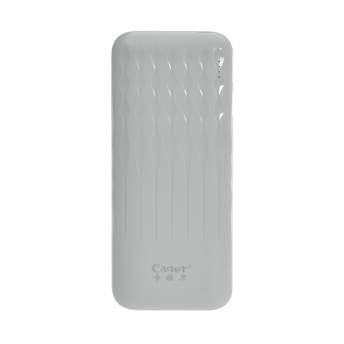 Cager WL120 12000mAh DC5V 2A Portable Power Bank for Xiaomi Samsung Huawei