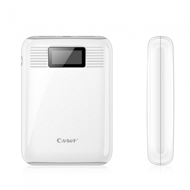 Cager B05 10000mAh LCD Display Dual Output Power Bank for Xiaomi Samsung