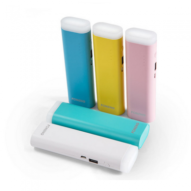 Foneng M3 7800mAh LED Portable Power Bank for Mobile Phone