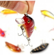 8pcs 5cm 3.6g Fishing Lures Bass Crankbaits Lure Tackle with hooks