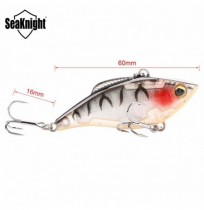 SeaKnight SK010 1PCS VIB Fishing Lure 6cm 9.5g Sinking Lure Full Layer Hard Bait Vibration Lure