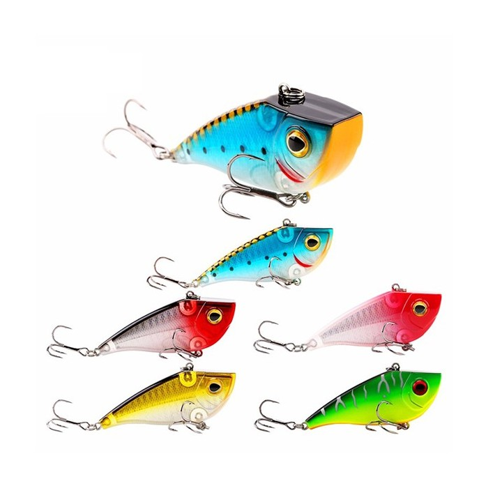 SeaKnight SK027 VIB 1PC 21g 70mm Sinking Fishing Lure Lifelike Artificial Hard Baits Fishing Tackle