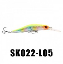 SeaKnight SK022 1PC 9g 80mm 0-1.5m Profondeur Minnow Fishing Lure BKK Hooks Fishing Hard Baits