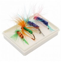 ZANLURE Lot 100 pcs Kinds of Fishing Lures Crankbaits Hooks Minnow Bass Baits Tackle with Box