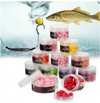 ZANLURE8-14mmCursoCarpapescaLures Popups Cebos 9 Colores 9 Sabores Floating Lure Ball Beads