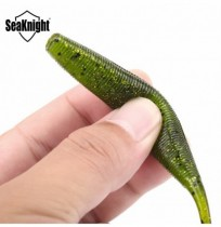 SeaKnight SL006 6pcs / bag 7,7g 125mm / 5in carpa TORCIA richiamo Silicone Soft Worm Baits Lure