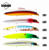 SeaKnight SK039 5PCS 20.5g 125mm Minnow Fishing Lure Wobblers Floating Casting Fishing Bait