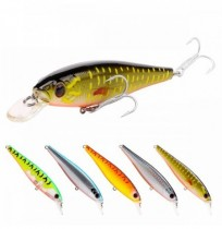 SeaKnight SK038 5pcs 17.3g 100mm 0-1.2M Sospensione del Minnow TORCIA Attracco dell'esca dura TORCIA VMC Ganci