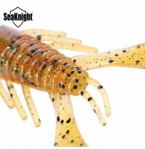 SeaKnight SL021 4pcs Soft Fishing Lure 110mm 11.5g Swinbait Fishig Worm Shrimp Bait