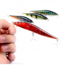 ZANLURE 4pcs/set 10cm 10g Minnow Fishing Lure 0.3m--1.5m Depth Shallow Water Artificial Hard Baits