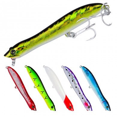 ZANLURE DW458 10pcs / set 83.5mm / 6g Поппер Lure Рыбалка Приманка Hard Bait Sea Рыбалка