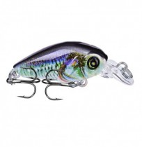 ZANLURE DW1116 10 Pz / set 47mm 4g Crankbait TORCIA esche artificiali in plastica esche mini artificiali
