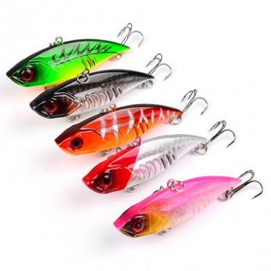 ZANLURE 5pcs/set 6.5cm 10.5g VIB Fishing Lure Isca Artificial Pesca Hard Bait Wobbler
