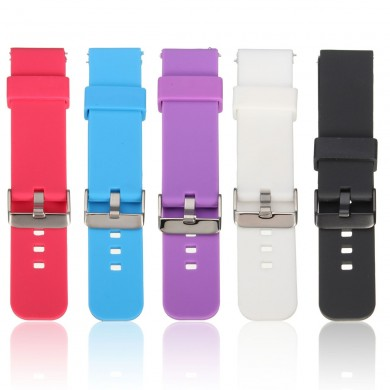 Sports Silicone Watch Band Strap For Pebble Time Samsung Galaxy R380 Smart Watch