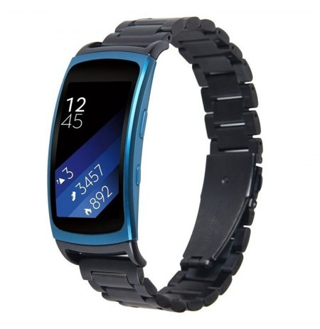 Stainless Steel Watch Band For Samsung Galaxy Gear Fit 2