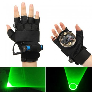 532nm Rechargeable Green Laser Glove Swirl Effect Stage Lighting For Right Hand