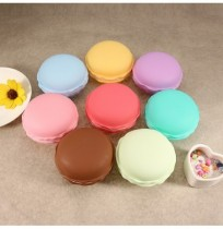 Candy Color Jewelry Box Multicolor Vivid Cake Shape Portable Ring Earrings Storage Box Gift Case