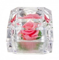 Eternal Flower Decoration Ring Box Rose Jewelry Box