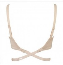 Low Back Bra halved Belt Extender Hook Adjustable Strap
