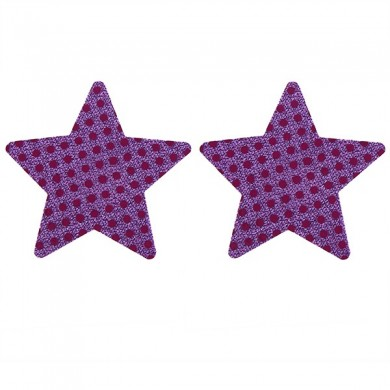 Sexy Paillette Five-pointed Star descartável Backless Strapless Invisible Sticker