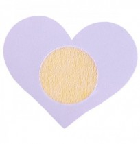 Sexy Heart-shaped Disposable Sticky Backless Breathable Strapless Invisible Bra Sticker