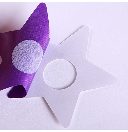 Star Shape Seamless Strapless Nipple Stickers Cover