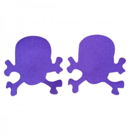 Sexy Skull Breathable Disposable Invisible Breast Nipple Sticker Cover