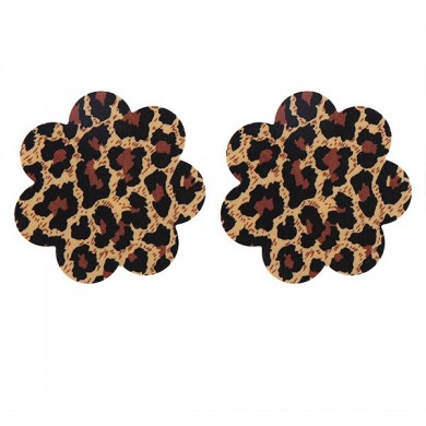 Sexy Leopard Multi Shape Backless Strapless Seamfree Disposable Bra Sticker