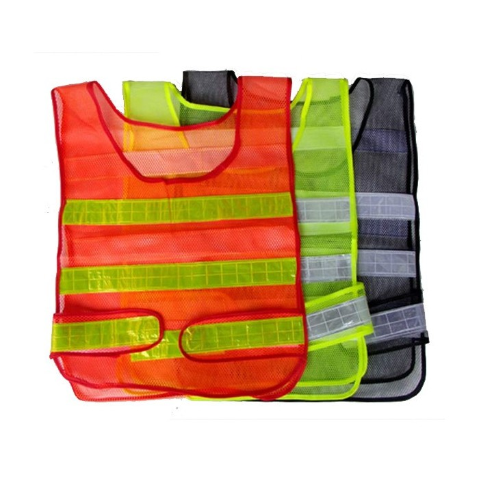 Traffic Security Vest Sichtbarkeit Mesh Reflexstreifen Weste