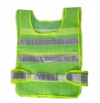 Traffic Security Vest Visibility Mesh Reflective Stripes Waistcoat